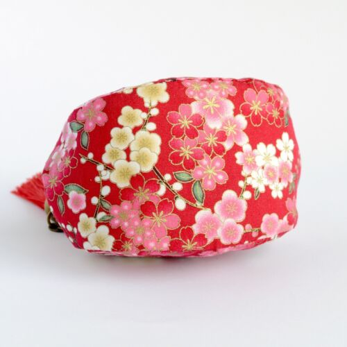 Handmade Japanese Sakura Cherry Blossom Oriental Coin Purse Collectable #0088