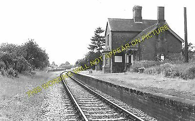 1 Tenbury Wells Line Newnham Bridge Railway Station Photo Neen Sollars