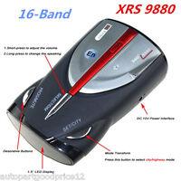 16-Band Radar Detector Cobra XRS 9880 Laser Anti Radar Detectors for Car Driving