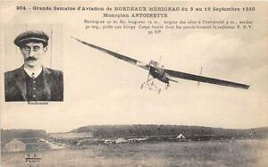 CPA-33-GRANDE-SEMAINE-AVIATION-MERIGNAC-1910-MONOPLAN-ANTOINETTE-RUCHONNET