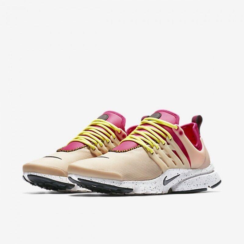 Women's Nike Air Presto Ultra SI Mushroom Deadly Pink White 917694-200 Size 12