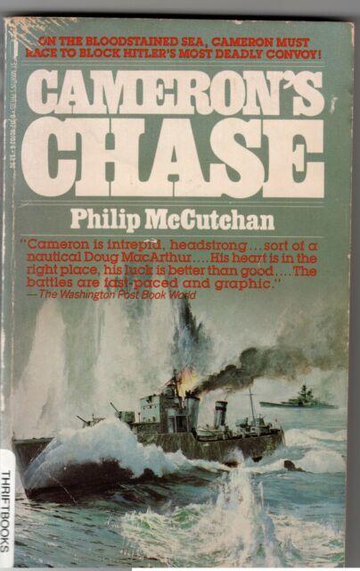 Cameron's Chase - Philip McCutchan - British navy in World War 2 hardback