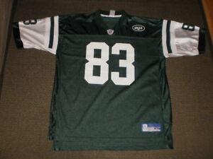 1d0ef3c0817 Santana Moss New York Jets #83 Football Jersey-Adult L-Reebok | eBay