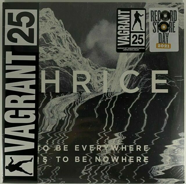 THRICE To Be Everywhere Is To Be Nowhere - VAGRANT 25th Limited Color Vinyl NEW