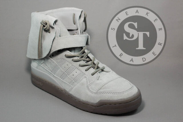 sneakers for cheap d10ba 94866 ADIDAS ORIGINALS FORUM HI MOC B27682 STONE GREY CLAY DS SIZE 12