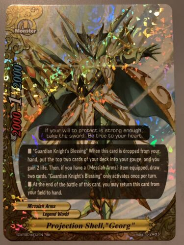 Toys Hobbies Future Card Buddyfight Projection Shell Georg Messiah Arms S Bt06 0017en Rr Collectible Card Games