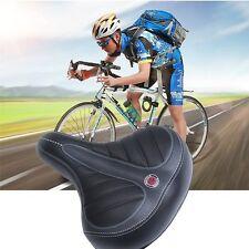Wide Big Bottom Saddle Seat Mountain Bike Bicycle Gel Extra Comfort Pad Cover