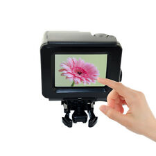 Blackout touch screen waterproof Housing case for GoPro hero 4 go pro mount