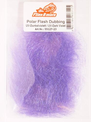 Polar FLASH UV Dubbing Sybai langfaserig UV Dark Violet