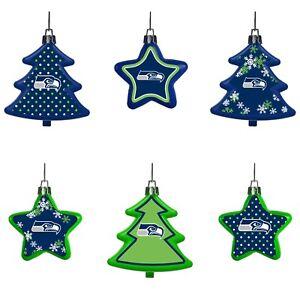 Seahawks Christmas Tree.Seattle Seahawks Shatterproof Trees Stars Christmas Tree