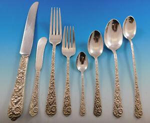 Radiant-Rose-by-International-Sterling-Silver-Flatware-Service-Set-51-pcs-Dinner
