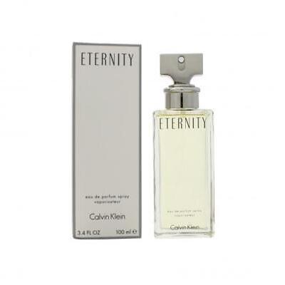 Eternity Perfume by Calvin Klein, 3.4 oz EDP Spray for Women NEW