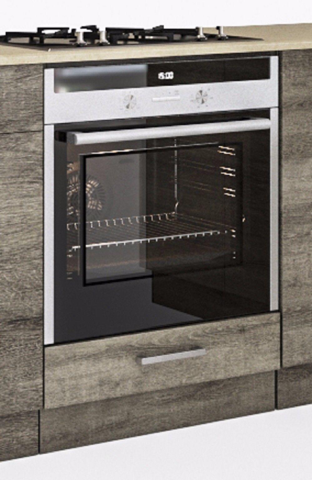 Backofenschrank Trüffel Sonoma 60 cm für die Küchen  Alina  und  Martha  (1011)