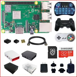 Berryku-Raspberry-Pi-3-B-B-Plus-DIY-Kit-Black-KODI-RetroPie-Minecraft
