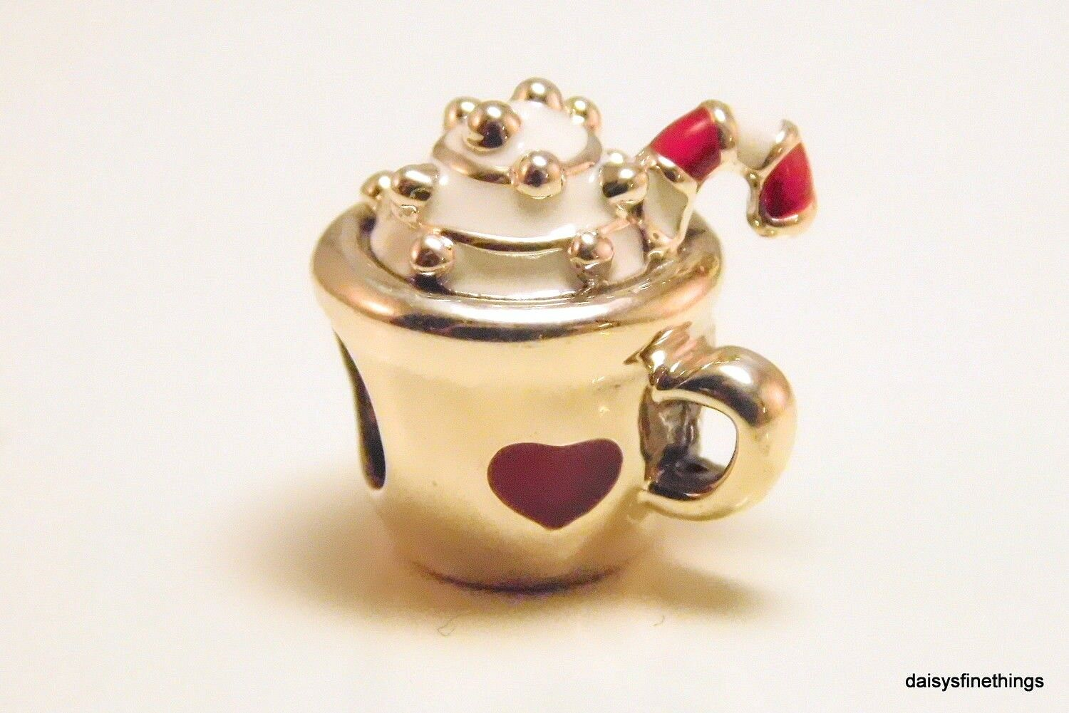 d2256fdf2 Christmas 2018 PANDORA Cup Warm Cocoa Charm Bead Holiday Sterling ...
