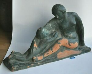 CANNEEL-Eugene-Sculpture-Terre-Cuite-XXeme