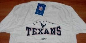 Houston-Texans-T-shirt-Large-Cool-Logos-Reebok-Blowout-Prices-NFL