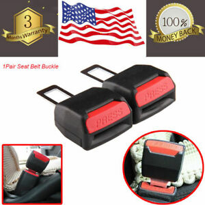 2pcs-Car-Safety-Seat-Belt-Buckle-Extension-Extender-Clip-Alarm-Stopper-Universal