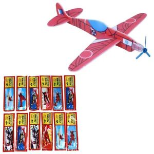Flying-Gliders-Plane-Toy-Party-Bag-Fillers-Childrens-Toys-Pack-Of-12