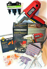 """CHICAGO ELECTRIC 1/2""""dr. IMPACT WRENCH W/IMPACT SOCKET ADAP. SET,GLOVES,EARPLUGS"""