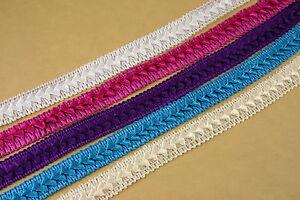 24 Yards Full Spool Roll of SATIN Braided Fabric TRIM WHOLESALE BULK BUY