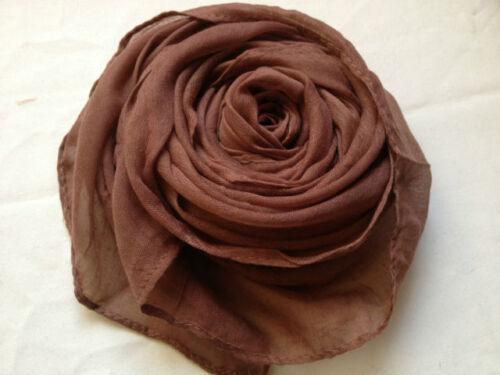 Fashionable Plain Oversize Maxi Hijab//Scarf Many Colours Available ! New