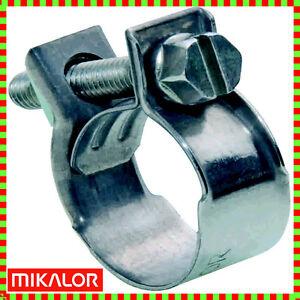 Mikalor-W1-Mini-Nut-amp-Bolt-Fuel-Hose-Clip-Petrol-Diesel-Pipe-Clamps-Zinc-Plated
