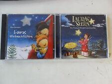 2 x Hörbuch Laura CD - Lauras Stern + Lauras Weihnachtsstern - gut erhalten