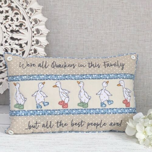 DUCK Coussin rectangle famille