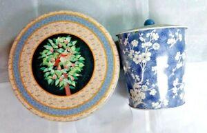 Decorative-Tins-Generic-A-Lot-Of-2