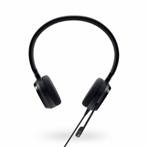 Genuine-Dell-Pro-Stereo-Headset-UC150-Skype-for-Business-certified-520-AAMD