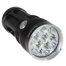 Black Waterproof  SecurityIng 8500LM 7x CREE XM-L T6 LED Flashlight Light Torch