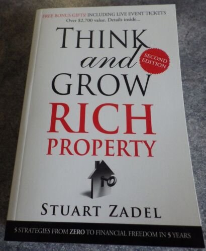 1 of 1 - Think & Grow Rich Property ~ Stuart Zadel ~ Second edition