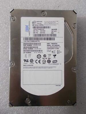 "Dell 9Z2066-080 Seagate 146GB 15K SAS 3.5/"" 3G HDD Hard Drive Fast Free Ship"