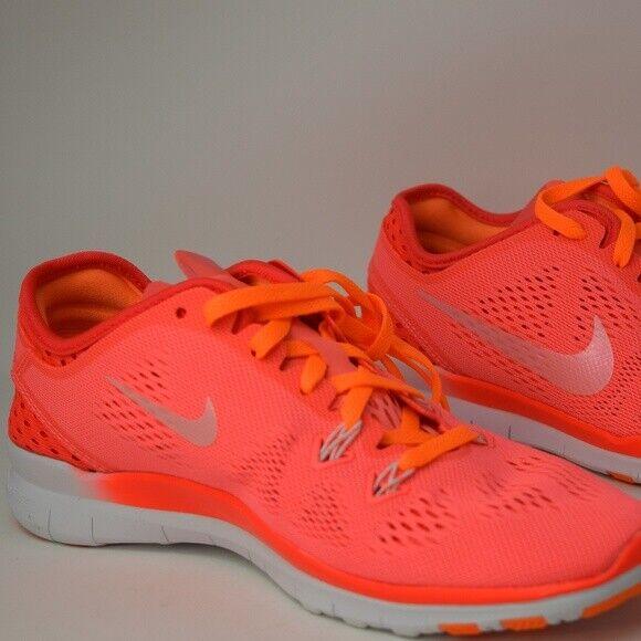 nike free 5.0 breathe Nike Women 5.0 TR Fit 5 Breathe Lava Glow White Bright Crimson ...