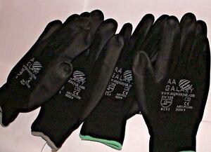 Black Nylon PU Safety  Work  Garden Gloves Medium  1 To 50 Pairs - Bracknell, United Kingdom - Black Nylon PU Safety  Work  Garden Gloves Medium  1 To 50 Pairs - Bracknell, United Kingdom