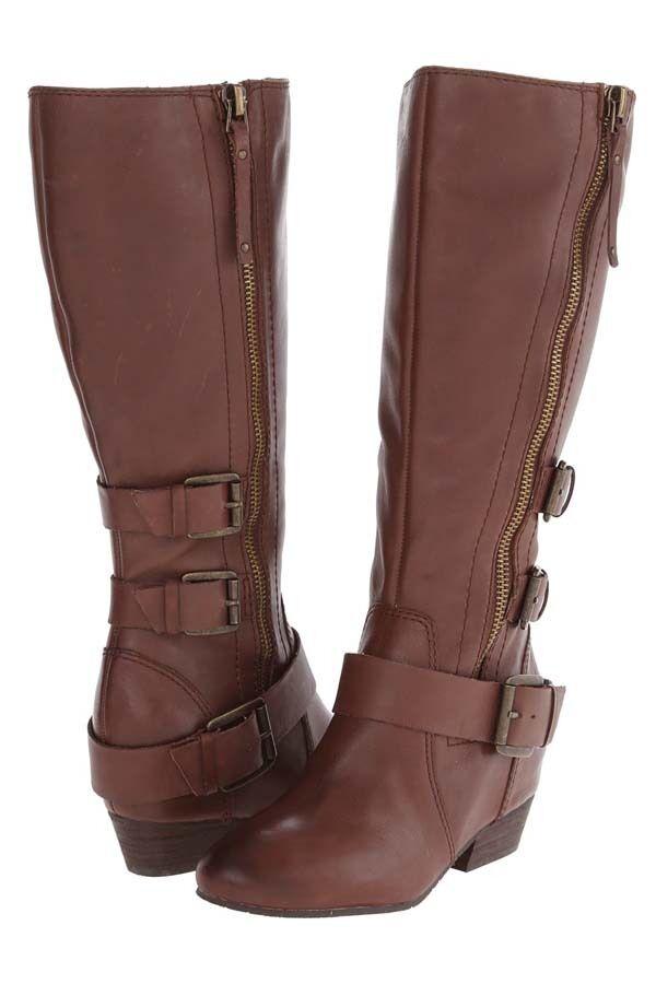 New NAYA Frankie Damens Wide Wide Wide Calf Leder Stiefel Sz 6.5 (MSRP 249) 1a9db0
