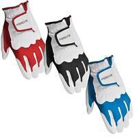 Intech Feelys Men's Left Hand Golf Glove Medium/large, Red Or Blue Or Black