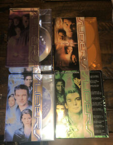 SLIDERS-Complete-Series-DVD-Seasons-1-5-Four-boxed-sets