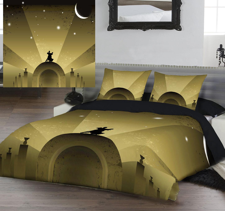 Fly Me To The Moon - Bettbezug Set von Art Déco Designs - in 2 Größen Erhältlich