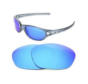 d207bf54d5 Image is loading NEW-POLARIZED-ICE-BLUE-REPLACEMENT-LENS-FOR-OAKLEY-