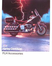 1978 Harley Davidson Brochure, FLH Electra Glide Accessories, Original Xlnt