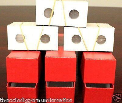 300 Dime Mylar Cardboard Coin Holder 2x2 Flip BCW 18mm Paper Storage Flips Case