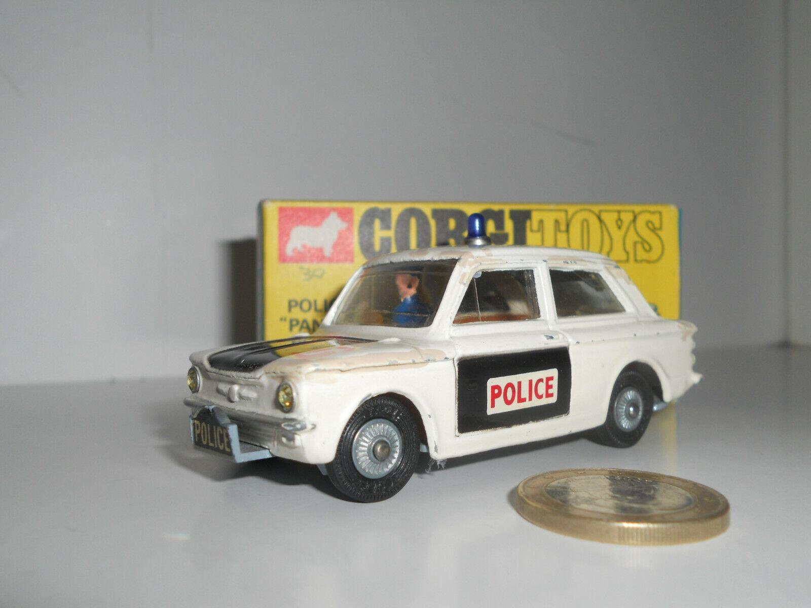"""CORGI leksaker POLICE PANDA IMP N 65533; """"FRAR553333; 506 853019"""