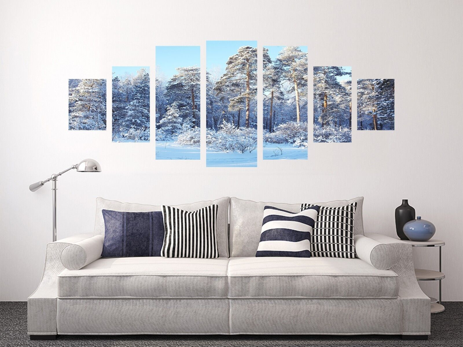 3D Snow Forest 678 Unframed Print Wall Paper Decal Wall Deco Indoor AJ Wall