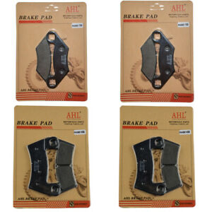 Brake-Pads-Front-Rear-Kit-for-Polaris-RZR-800-2008-2014-2009-2010-2011-2012-2013