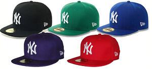 2a38cabdad433 New Era 59Fifty New York Yankees MLB Basic 5950 NY Baseball Cap