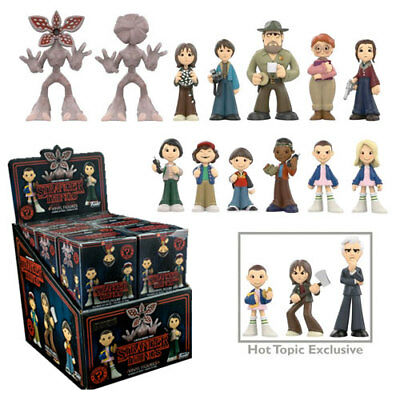 Display of 12 Stranger Things Mystery Minis HT Exclusive Blind Box Box