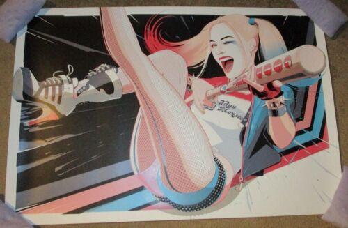 HARLEY QUINN suicide squad batman Art Print poster art Craig Drake dc comics