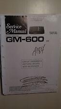 pioneer gm600 ebay rh ebay com